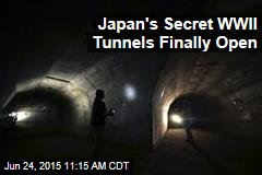 Japan's Secret WWII Tunnels Finally Open