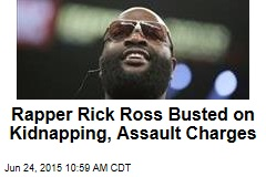 Rapper Rick Ross Busted on Kidnapping, Assault Charges
