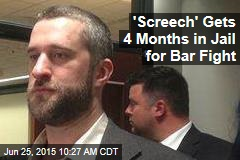 'Screech' Gets 4 Months in Jail for Bar Fight