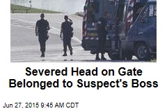 Severed Head on Gate Belonged to Suspect's Boss