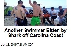 Another Swimmer Bitten by Shark off Carolina Coast