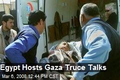 Egypt Hosts Gaza Truce Talks