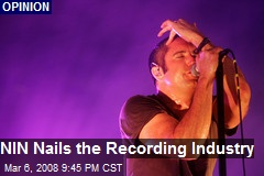 NIN Nails the Recording Industry