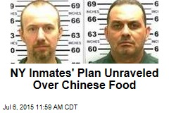 NY Inmates' Plan Unraveled Over Chinese Food