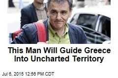 This Man Will Guide Greece Into Uncharted Territory