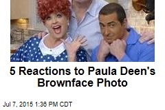 5 Reactions to Paula Deen's Brownface Photo
