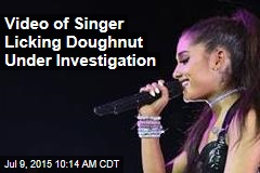 Video of Singer Licking Doughnut Under Investigation