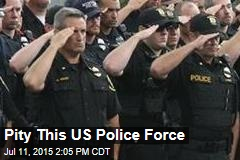 Why One Police Force Is Struggling Bigtime