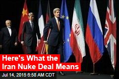 Diplomats: We Have an Iran Nuke Deal