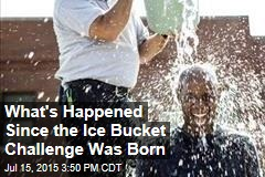 What's Happened Since the Ice Bucket Challenge Was Born