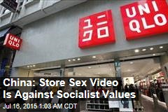 China: Store Sex Video Is Against Socialist Values