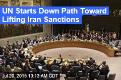 UN Starts Down Path Toward Lifting Iran Sanctions