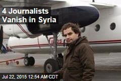 4 Journalists Vanish in Syria