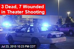 Report: Several Wounded in Theater Shooting