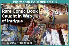 Rare Comic Book Caught in Web of Intrigue