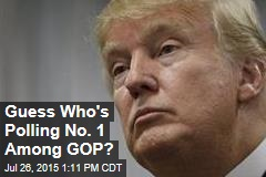 Guess Who's Polling No. 1 Among GOP?