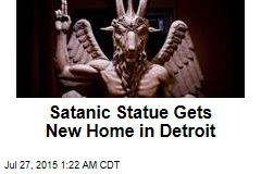 Satanic Statue Gets New Home in Detroit