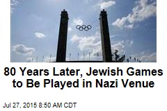 80 Years Later, Jewish Games Find Host in Nazi Venue