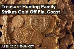 Treasure-Hunting Family Strikes Gold Off Fla. Coast