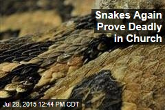 Snakes Again Prove Deadly in Church