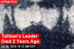 Report: Mullah Omar Dead