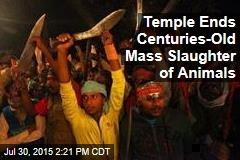 Temple Ends Centuries-Old Mass Slaughter of Animals