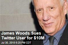 James Woods Sues Twitter User Over Insult