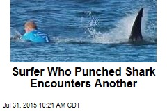 Surfer Who Punched Shark Encounters Another