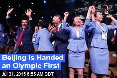 Beijing Wins 2022 Olympics