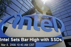 Intel Sets Bar High with SSDs