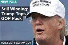 Still Winning: Trump Tops GOP Pack