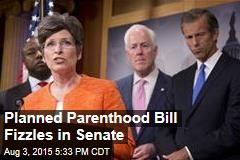 Senate Rejects Bill Against Planned Parenthood