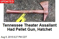 Gunman With Hatchet Killed at Tennessee Theater