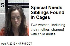Special Needs Siblings Found in Cages
