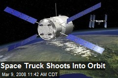 Space Truck Shoots Into Orbit
