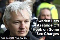 Sweden Lets Assange Off Hook on Some Sex Charges