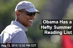 Here's What Obama Is Reading This Summer
