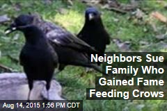 Suit: Girl's Crow-Feeding Is Murder on Neighborhood