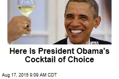 Here Is President Obama's Cocktail of Choice
