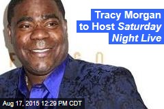 Tracy Morgan to Host Saturday Night Live