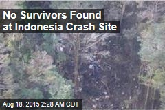 No Survivors Found at Indonesia Crash Site