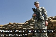'Wonder Woman' Wins Silver Star