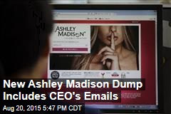 New Ashley Madison Dump Includes CEO's Emails