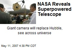 NASA Reveals Superpowered Telescope