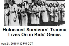 Holocaust Survivors' Trauma Lives On in Kids' Genes