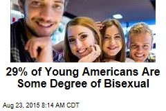 29% of Young Americans Are Some Degree of Bisexual