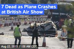 7 Dead as Plane Crashes at British Air Show