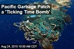 Pacific Garbage Patch a 'Ticking Time Bomb'