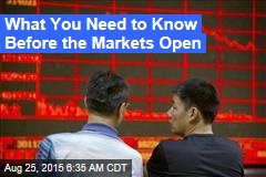 World Markets Calmer After 2nd Big Fall in China