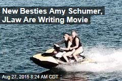 New Besties Amy Schumer, JLaw Are Writing Movie